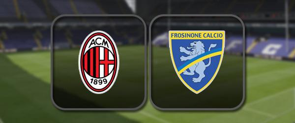 Милан - Фрозиноне: Полный матч и Лучшие моменты