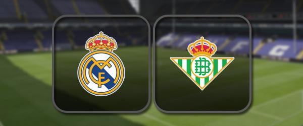 Реал Мадрид - Бетис онлайн трансляция