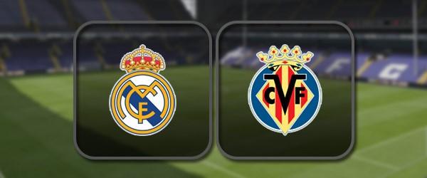 Реал Мадрид - Вильярреал онлайн трансляция