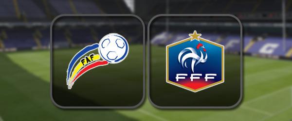 Андорра – Франция: Полный матч и Лучшие моменты
