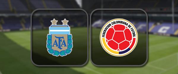 Аргентина - Колумбия: Полный матч и Лучшие моменты