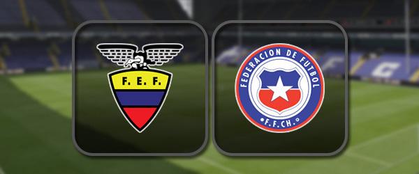 Эквадор – Чили: Полный матч и Лучшие моменты
