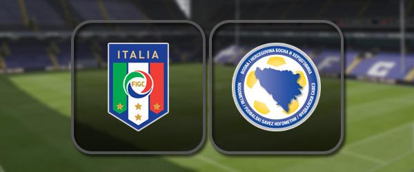 Италия – Босния и Герцеговина: Полный матч и Лучшие моменты