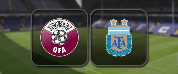 Катар – Аргентина: Полный матч и Лучшие моменты
