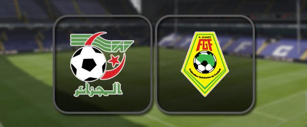 Алжир - Гвинея: Полный матч и Лучшие моменты