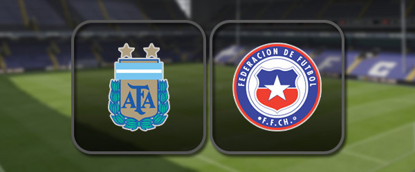 Аргентина - Чили: Полный матч и Лучшие моменты