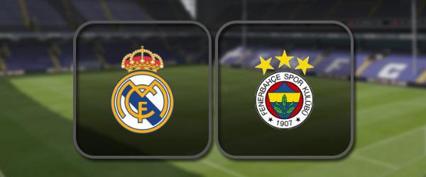 Реал Мадрид – Фенербахче: Полный матч и Лучшие моменты
