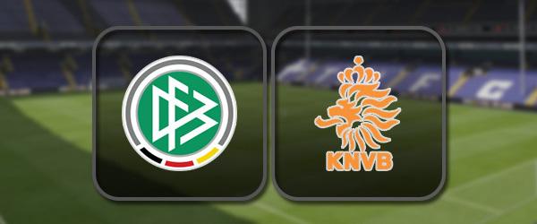Германия – Голландия: Полный матч и Лучшие моменты