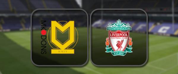 МК Донс – Ливерпуль: Полный матч и Лучшие моменты