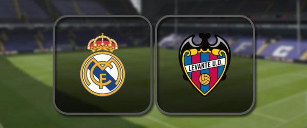 Реал Мадрид - Леванте онлайн трансляция
