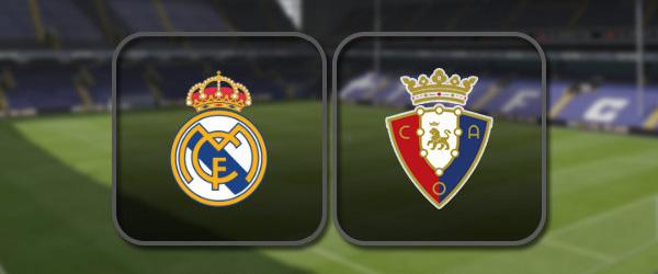 Реал Мадрид - Осасуна онлайн трансляция