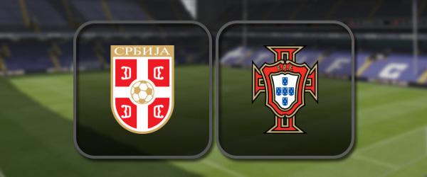 Сербия – Португалия: Полный матч и Лучшие моменты