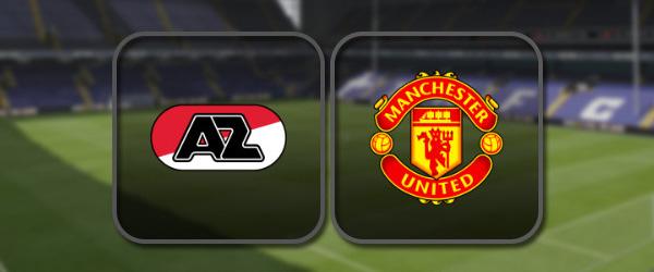АЗ Алкмар – Манчестер Юнайтед: Полный матч и Лучшие моменты