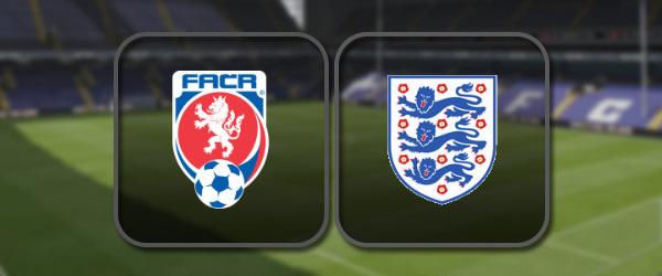 Чехия - Англия: Полный матч и Лучшие моменты