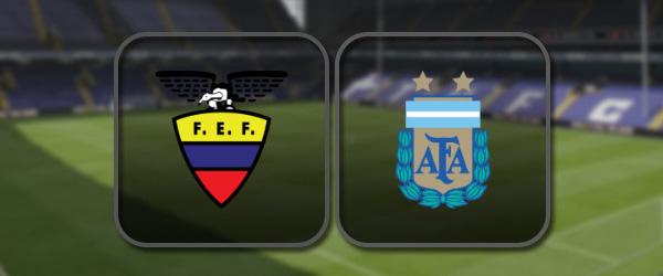 Аргентина - Эквадор: Полный матч и Лучшие моменты