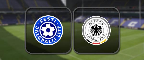Эстония – Германия: Полный матч и Лучшие моменты