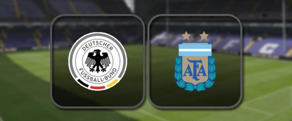 Германия – Аргентина: Полный матч и Лучшие моменты