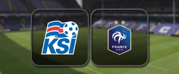 Исландия – Франция: Полный матч и Лучшие моменты