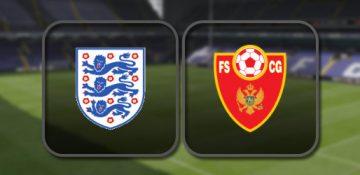 Англия – Черногория
