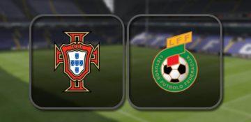 Португалия – Литва