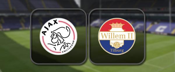 Аякс - Виллем II: Полный матч и Лучшие моменты