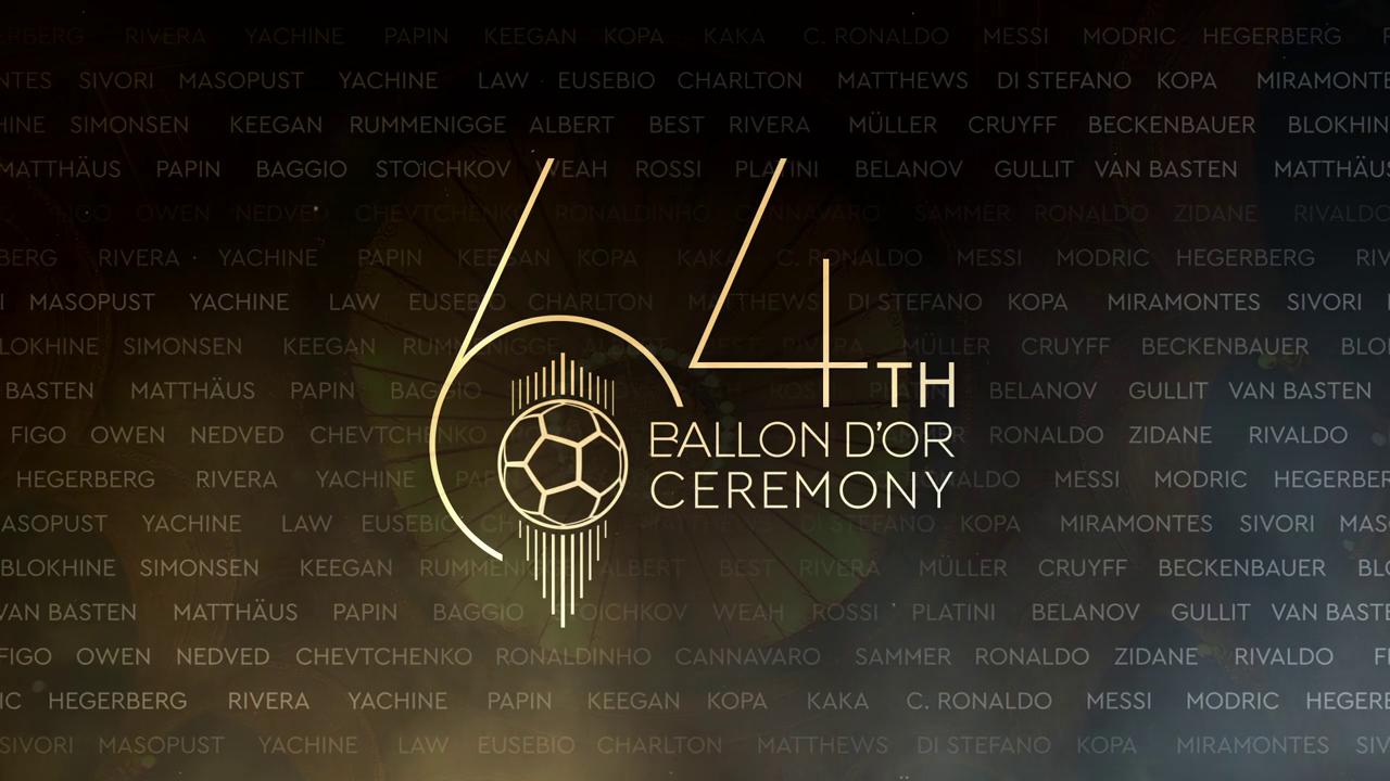 Золотой мяч 2019. Церемония вручения наград