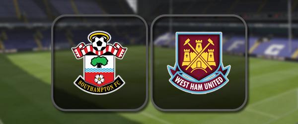 Саутгемптон – Вест Хэм: Полный матч и Лучшие моменты