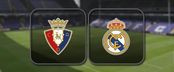 Осасуна - Реал Мадрид: Полный матч и Лучшие моменты