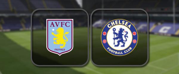 Астон Вилла - Челси: Полный матч и Лучшие моменты