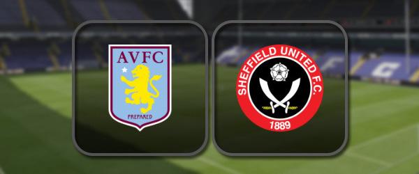 Астон Вилла - Шеффилд Юнайтед онлайн трансляция
