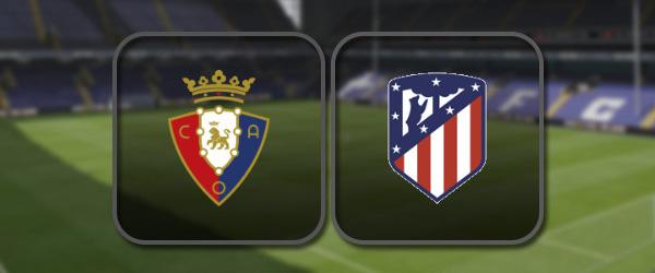 Осасуна - Атлетико: Полный матч и Лучшие моменты