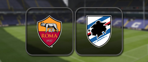 Рома - Сампдория онлайн трансляция