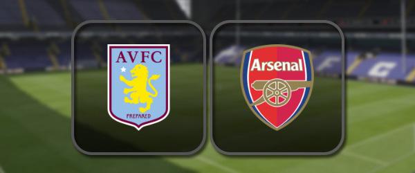 Астон Вилла - Арсенал онлайн трансляция