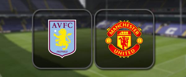 Астон Вилла - Манчестер Юнайтед: Полный матч и Лучшие моменты