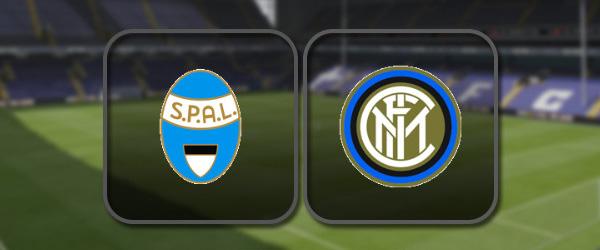 СПАЛ - Интер: Полный матч и Лучшие моменты