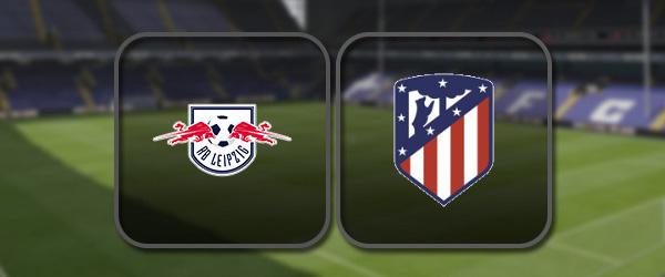 РБ Лейпциг – Атлетико: Полный матч и Лучшие моменты