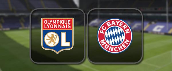 Лион – Бавария: Полный матч и Лучшие моменты