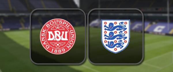 Дания – Англия: Лучшие моменты