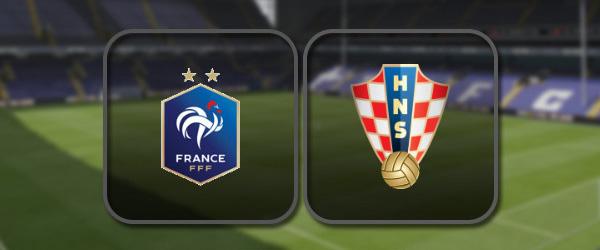 Франция – Хорватия: Полный матч и Лучшие моменты