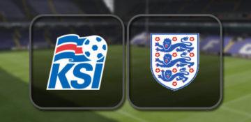 Исландия – Англия