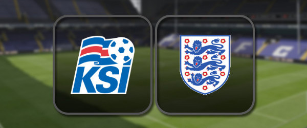 Исландия – Англия онлайн трансляция