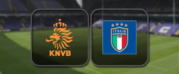 Нидерланды – Италия онлайн трансляция