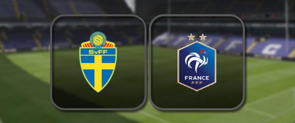 Швеция – Франция онлайн трансляция