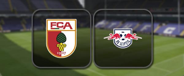 Аугсбург - РБ Лейпциг: Полный матч и Лучшие моменты