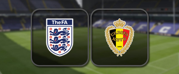 Англия – Бельгия онлайн трансляция