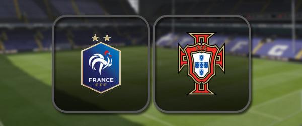 Франция – Португалия онлайн трансляция