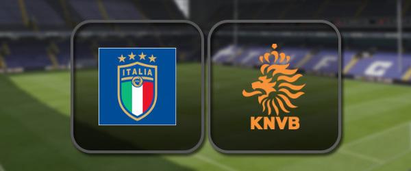 Италия – Нидерланды: Лучшие моменты
