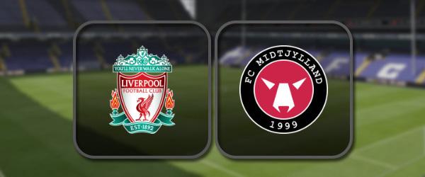 Ливерпуль – Мидтьюлланд: Полный матч и Лучшие моменты
