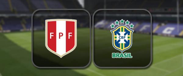 Перу – Бразилия: Полный матч и Лучшие моменты