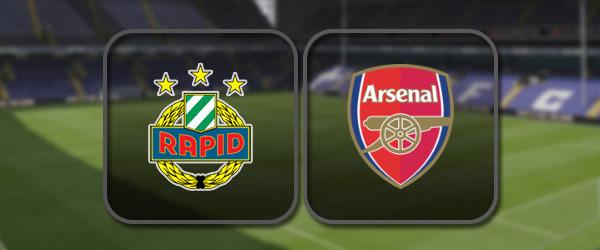 Рапид Вена – Арсенал: Полный матч и Лучшие моменты